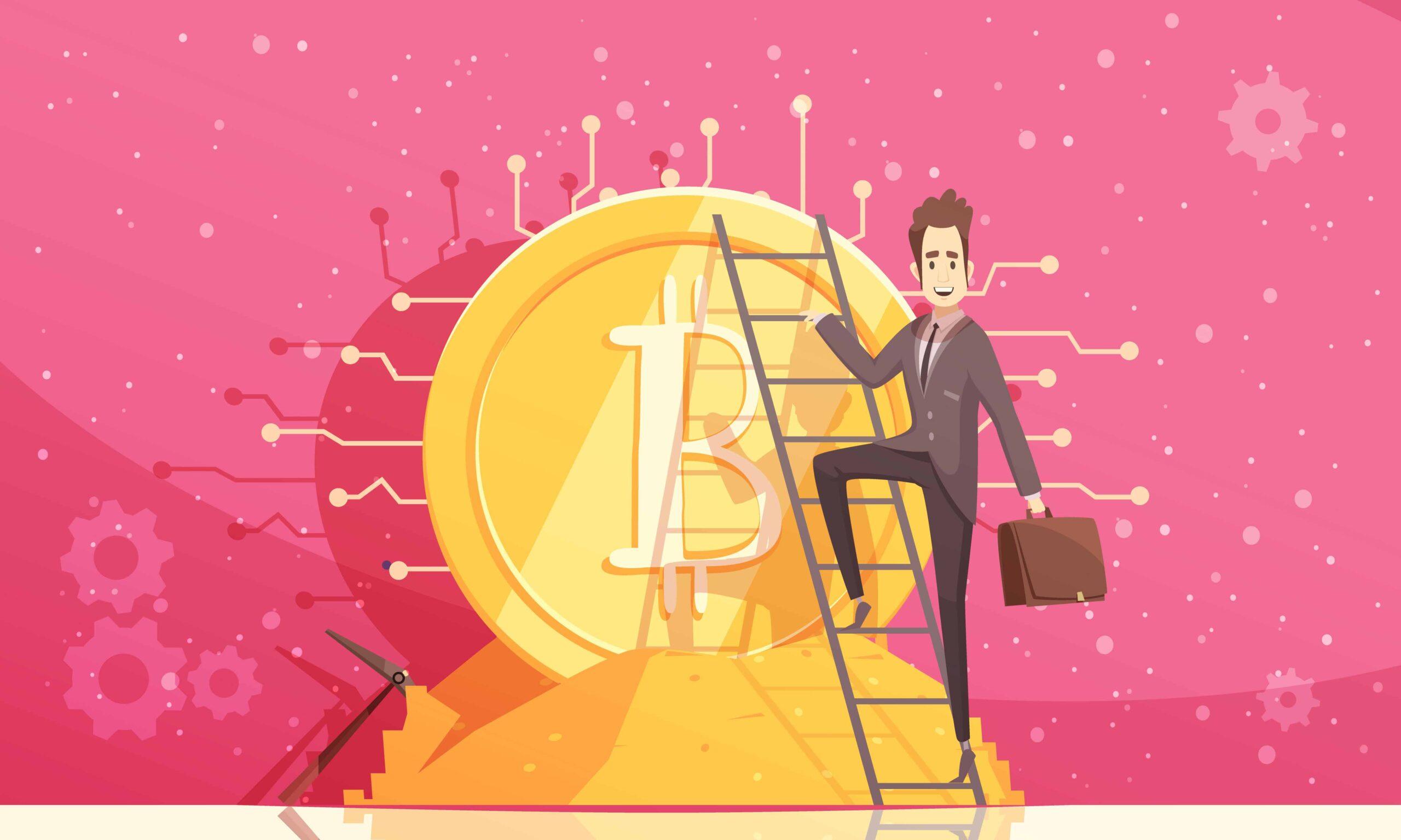 Bitcoin Vector Illustration